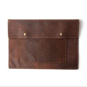 "ODIN LEATHER 🖤 Custom made leather ""briefolio"""